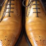 革靴修理 リペア